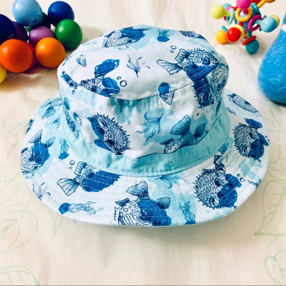 e2dc8897 Millymook and Dozer Accessories | Baby Bucket Hat Reversible | Poshmark